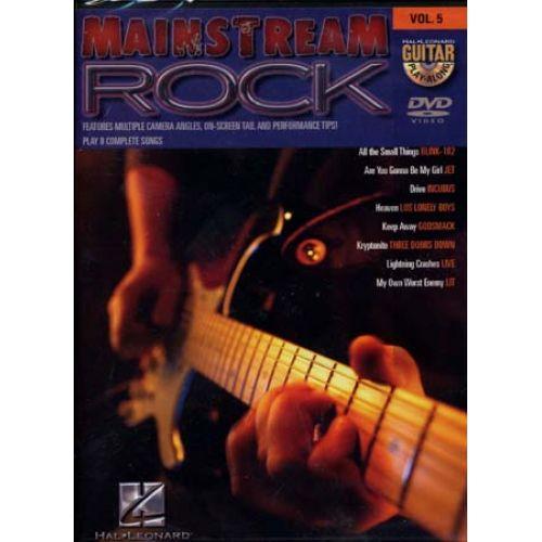 HAL LEONARD GUITAR PLAY ALONG VOL.5 - MAINSTREAM ROCK
