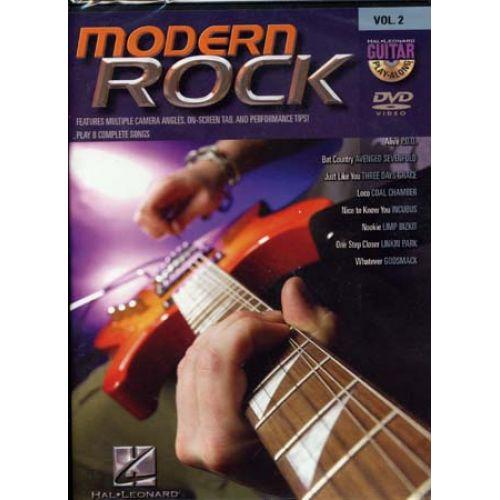 HAL LEONARD GUITAR PLAY ALONG VOL.2 - MODERN ROCK