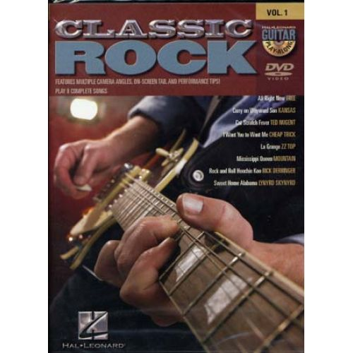 HAL LEONARD GUITAR PLAY ALONG VOL.1 - CLASSIC ROCK