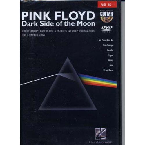 HAL LEONARD PINK FLOYD - GUITAR PLAY ALONG VOL.16 - DARK SIDE OF THE MOON
