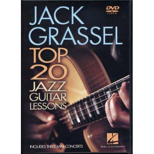 HAL LEONARD GRASSEL JACK - TOP 20 JAZZ GUITAR LESSONS