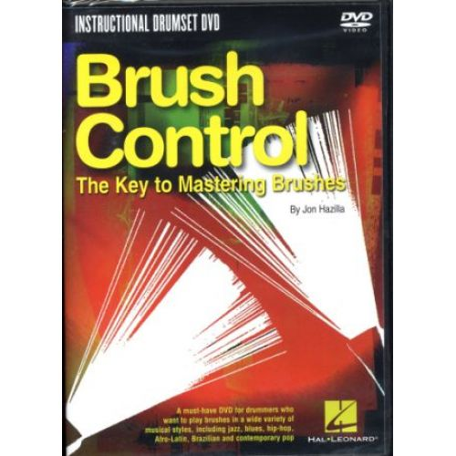 HAL LEONARD BRUSH CONTROL KEY TO MASTERING BRUSHES - BATTERIE