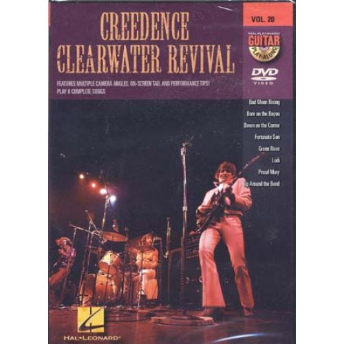 HAL LEONARD CREEDENCE CLEARWATER REVIVAL - GUITAR PLAY ALONG VOL.20