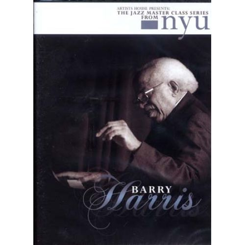 HAL LEONARD HARRIS BARRY - JAZZ MASTER CLASS SERIES - PIANO