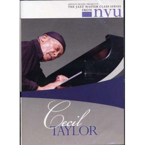 HAL LEONARD TAYLOR CECIL - JAZZ MASTER CLASS SERIES - PIANO