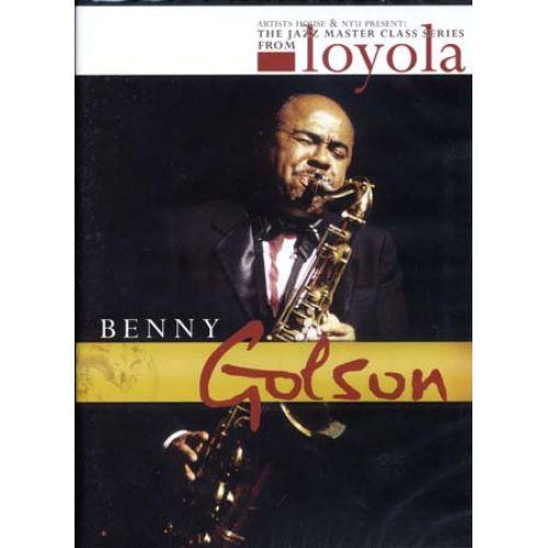 Hal leonard golson benny jazz master class series - Benny commande en ligne ...