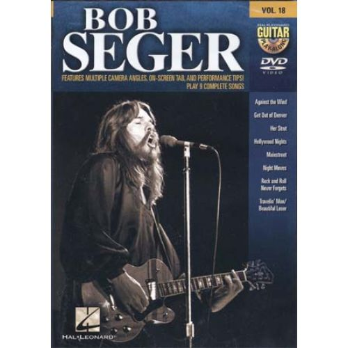 HAL LEONARD SEGER BOB - GUITAR PLAY ALONG VOL.18 - GUITARE