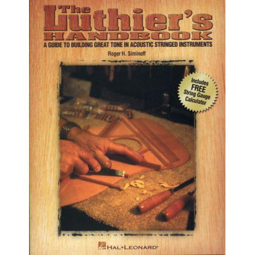 HAL LEONARD SIMINOFF ROGER - LUTHIER'S HANDBOOK