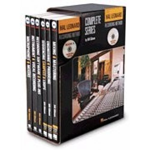 HAL LEONARD GIBSON BILL - HAL LEONARD RECORDING METHOD - COMPLETE SERIES - BOXED SET MUSIC PRO GUIDES -