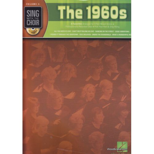 HAL LEONARD SING WITH THE CHOIR VOL.5 - THE 1960s + CD