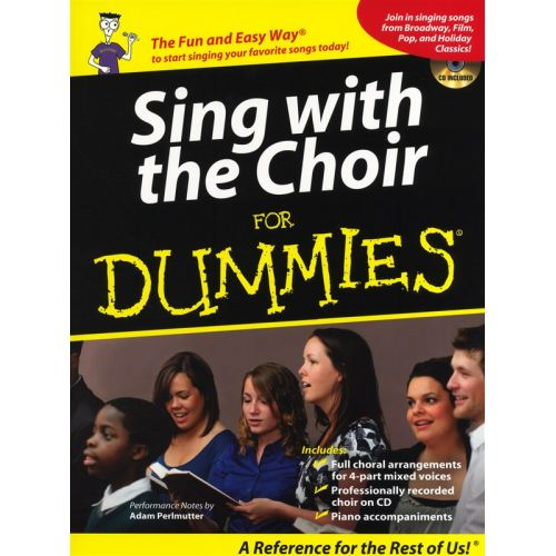 HAL LEONARD SING WITH THE CHOIR FOR DUMMIES + CD - CHORAL