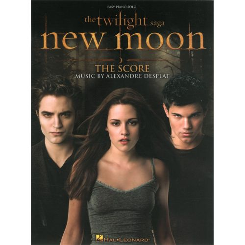 HAL LEONARD DESPLAT - TWILIGHT NEW MOON THE SCORE EASY - PIANO SOLO