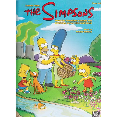 HAL LEONARD DANNY ELFMAN - THEME FROM THE SIMPSONS - PIANO SOLO