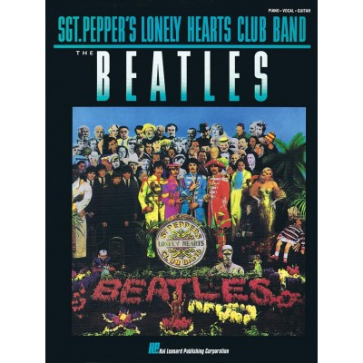 HAL LEONARD THE BEATLES - SGT PEPPER'S LONELY HEARTS CLUB BAND - PVG