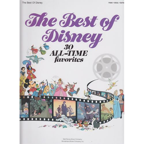 HAL LEONARD THE BEST OF DISNEY - PVG