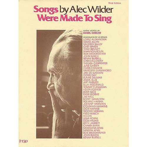 HAL LEONARD THE ALEC WILDER SONG COLLECTION - PVG