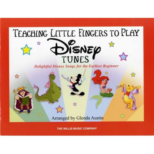 HAL LEONARD TEACH LITTLE FINGERS TO PLAY DISNEY TUNES - PIANO SOLO