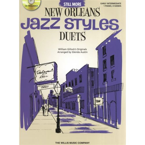 THE WILLIS MUSIC COMPANY STILL MORE NEW ORLEANS JAZZ STYLES DUETS PIANO DUET- PIANO DUET
