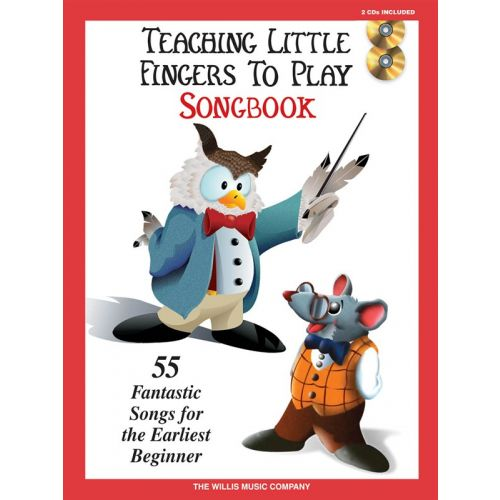 HAL LEONARD TEACHING LITTLE FINGERS TO PLAY SONGBOOK + 2CD - PIANO SOLO