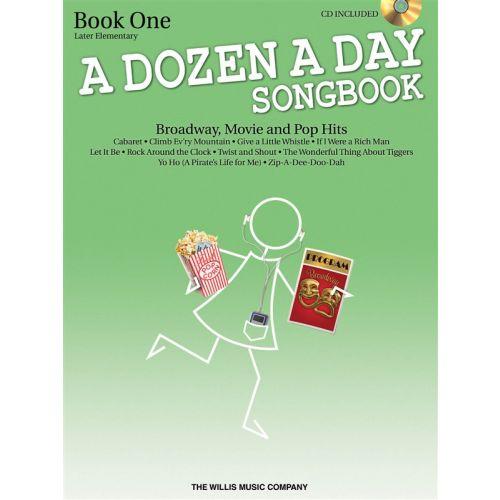 THE WILLIS MUSIC COMPANY A DOZEN A DAY SONGBOOK - BOOK 1 - PIANO SOLO