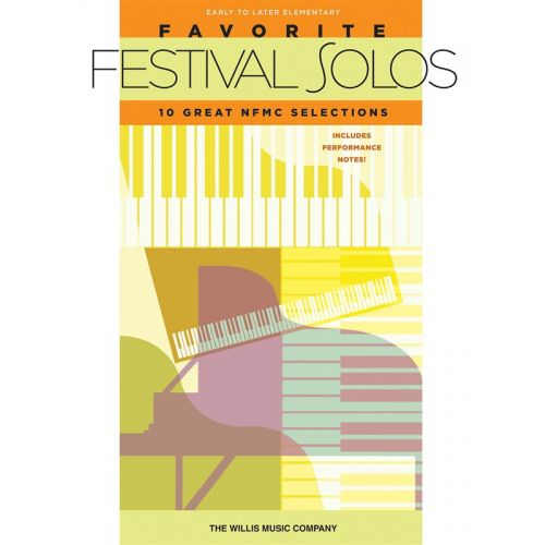 HAL LEONARD FAVORITE FESTIVAL SOLOS EARLY-LATE ELEMENTARY - PIANO SOLO
