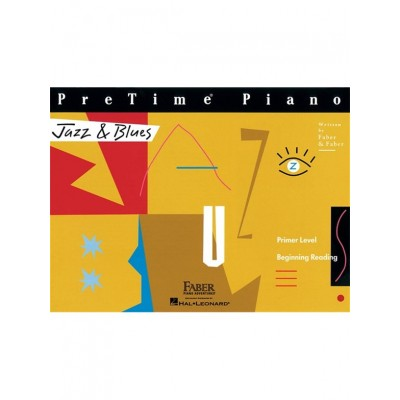 HAL LEONARD PRETIME PIANO - JAZZ & BLUES - PRIMER LEVEL