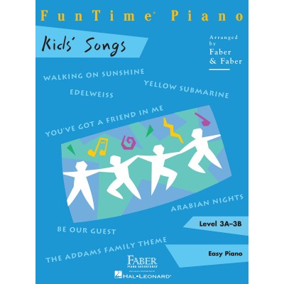 HAL LEONARD FABER NANCY RANDALL FUNTIME PIANO KIDS ADVENTURES LEVEL 3A 3B - PIANO SOLO