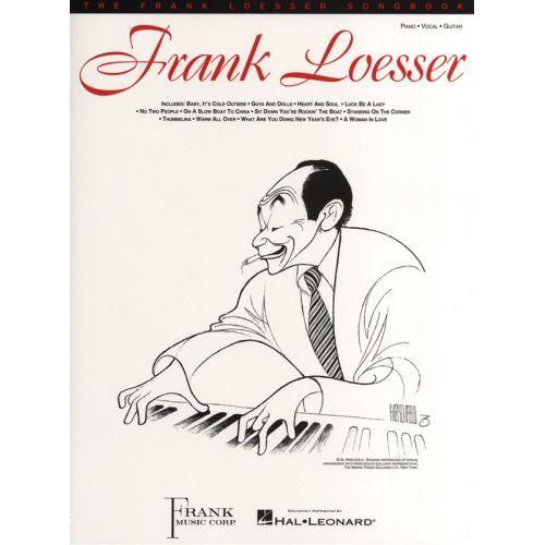 HAL LEONARD FRANK LOESSER THE FRANK LOESSER SONGBOOK - PVG