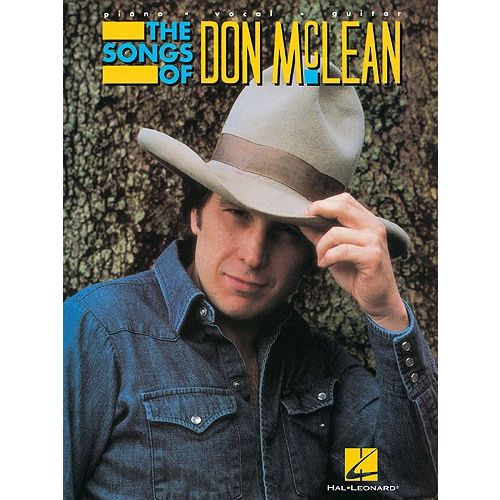 HAL LEONARD THE SONGS OF DON MCLEAN - PVG