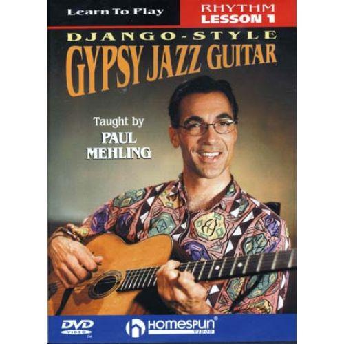 HAL LEONARD MELING PAUL - GYPSY JAZZ GUITAR - DJANGO STYLE LESSON 1 : RHYTHM - GUITARE