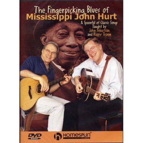HAL LEONARD MISSISSIPPI JOHN HURT - FINGERPICKING BLUES - GUITARE