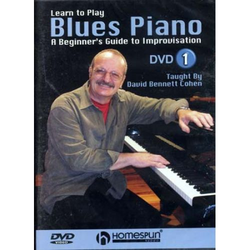 HAL LEONARD COHEN DAVID B. - BLUES PIANO VOL.1