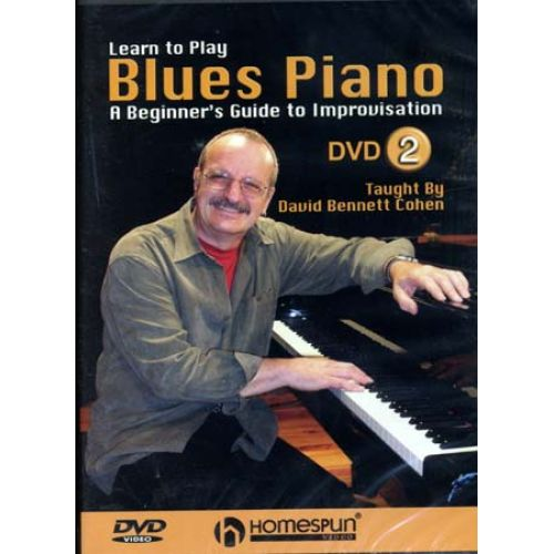 HAL LEONARD COHEN DAVID B. - BLUES PIANO VOL.2