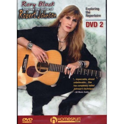 HAL LEONARD BLOCK RORY - GUITAR OF ROBERT JOHNSON VOL.2