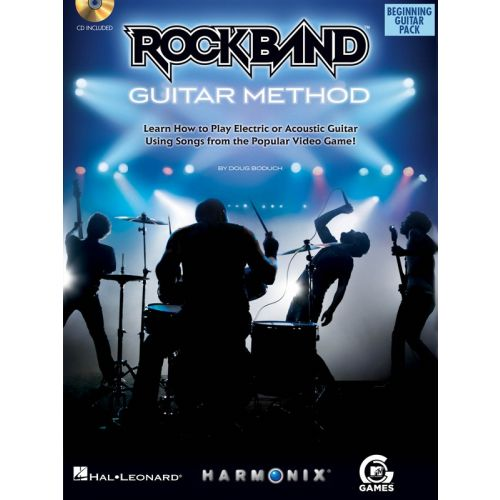 HAL LEONARD ROCK BAND BEGINNING - GUITAR PACK+ CD - GUITAR