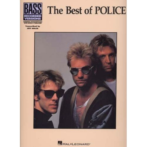 HAL LEONARD POLICE - BEST BASS - BASS TAB