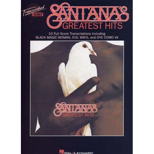 HAL LEONARD SANTANA CARLOS - GREATEST HITS - SCORES