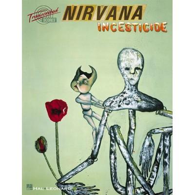 HAL LEONARD NIRVANA - INCESTICIDE - TRANSCRIBED SCORES