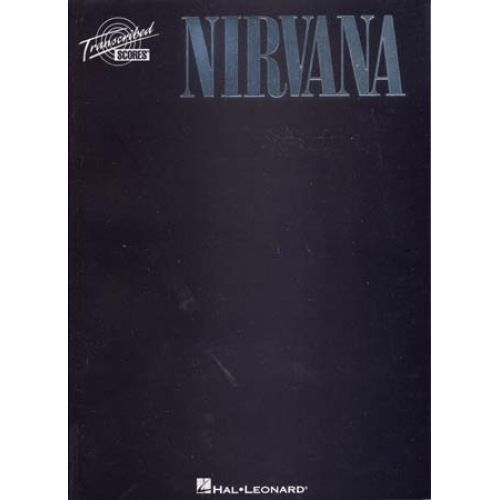 HAL LEONARD NIRVANA - BLACK - SCORES