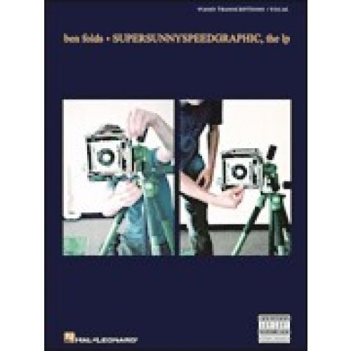 HAL LEONARD BEN FOLDS - SUPERSUNNYSPEEDY GRAPHIC - VOICE