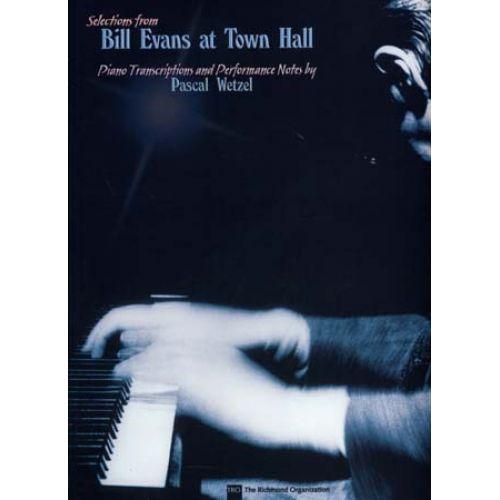 HAL LEONARD EVANS BILL - AT TOWN HALL SELECTIONS - PIANO