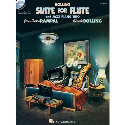 HAL LEONARD RAMPAL JEAN PIERRE - CLAUDE BOLLING - SUITE FOR FLUTE AND JAZZ PIANO TRIO