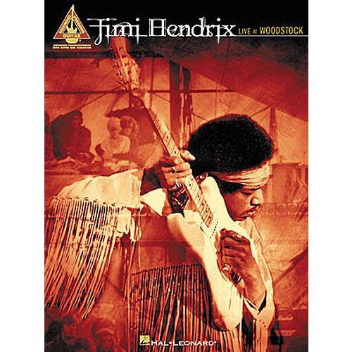 HAL LEONARD HENDRIX JIMI - LIVE AT WOODSTOCK - GUITAR TAB