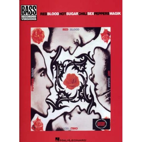 HAL LEONARD RED HOT CHILI PEPPERS - BLOOD SUGAR SEX MAGIC - BASS TAB