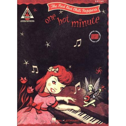 HAL LEONARD RED HOT CHILI PEPPERS - ONE HOT MINUTE - GUITARE TAB
