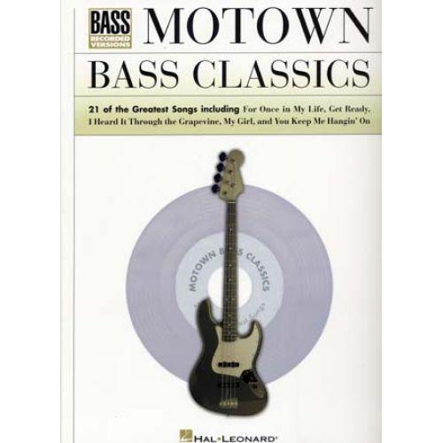HAL LEONARD MOTOWN BASS CLASSICS 21 SONGS - BASS TAB