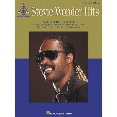 HAL LEONARD WONDER STEVIE - HITS - GUITAR TAB