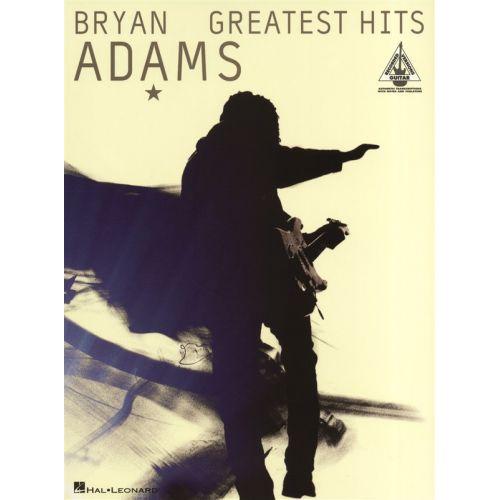 HAL LEONARD ADAMS BRYAN GREATEST HITS GUITAR RECORDED VERSION - GUITAR