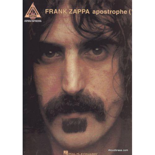 HAL LEONARD FRANK ZAPPA - L'APOSTROPHE - GUITAR TAB