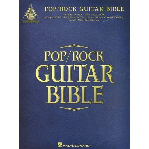 HAL LEONARD POP/ROCK GUITAR BIBLE GUITAR RECORDED VERSION - GUITAR TAB